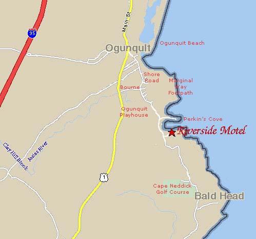 Ogunquit Maine Map Directions